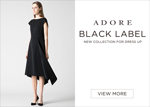 <BLACK LABEL> NEW COLLECTION FOR DRESS UP