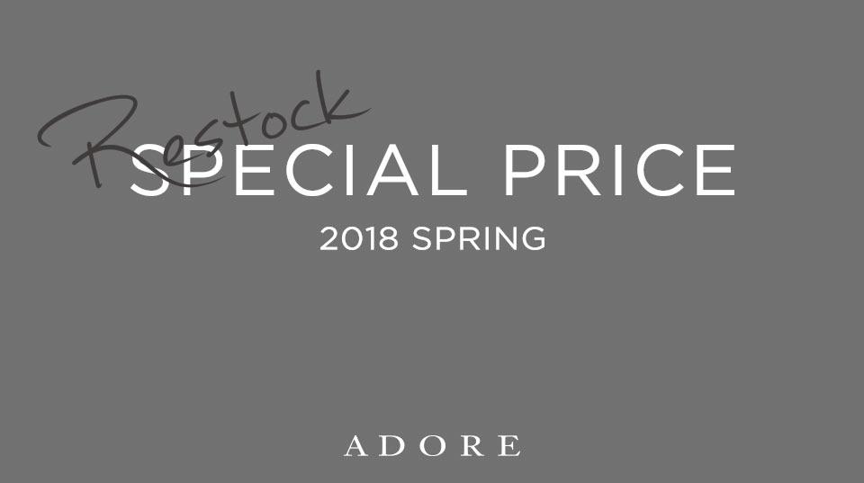 SPECIAL PRICE 2018 SPRING